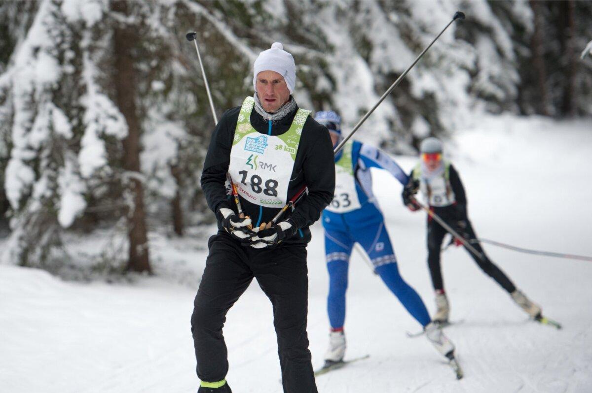Raio Piiroja Kõrvemaa maratonil.