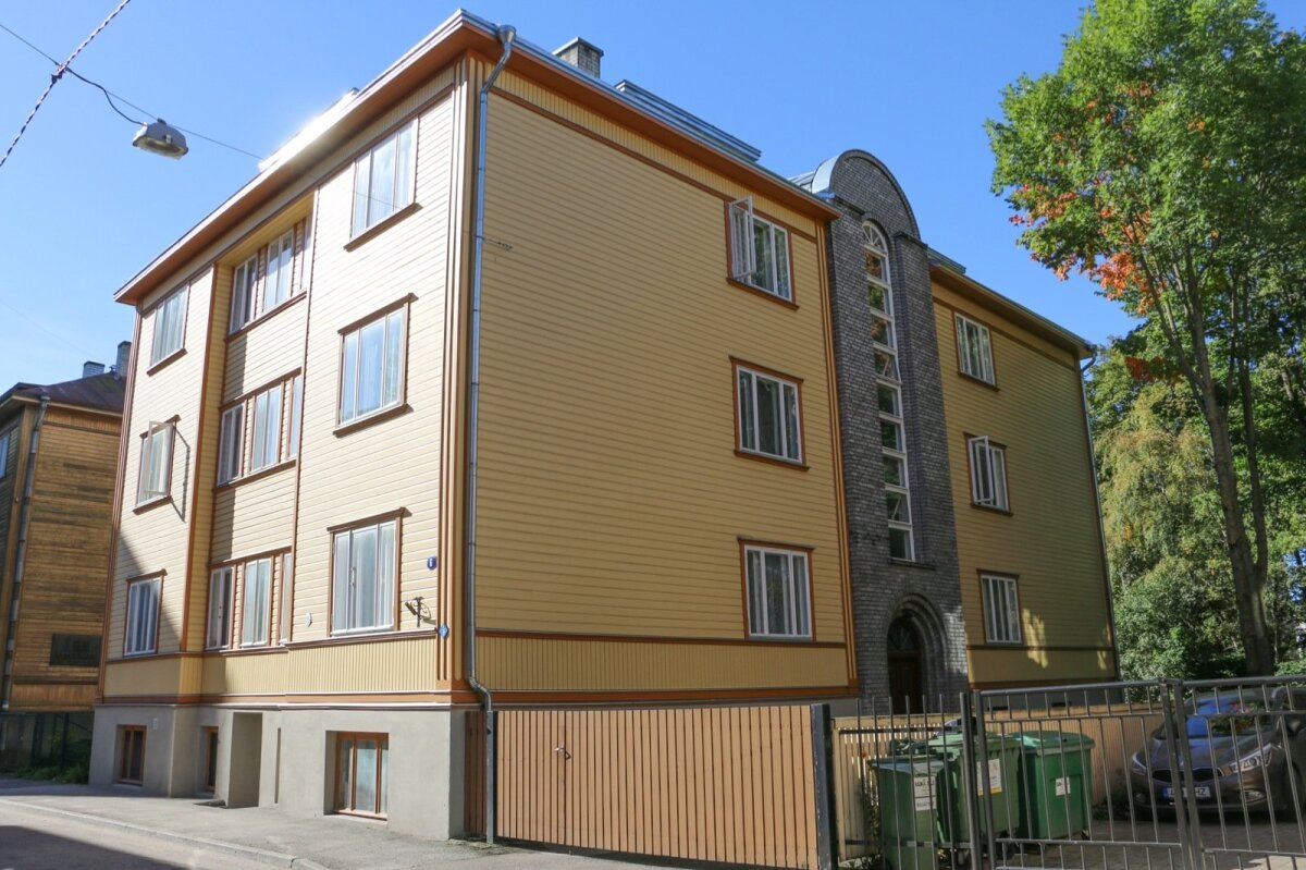 Tallinna tüüpi maja.