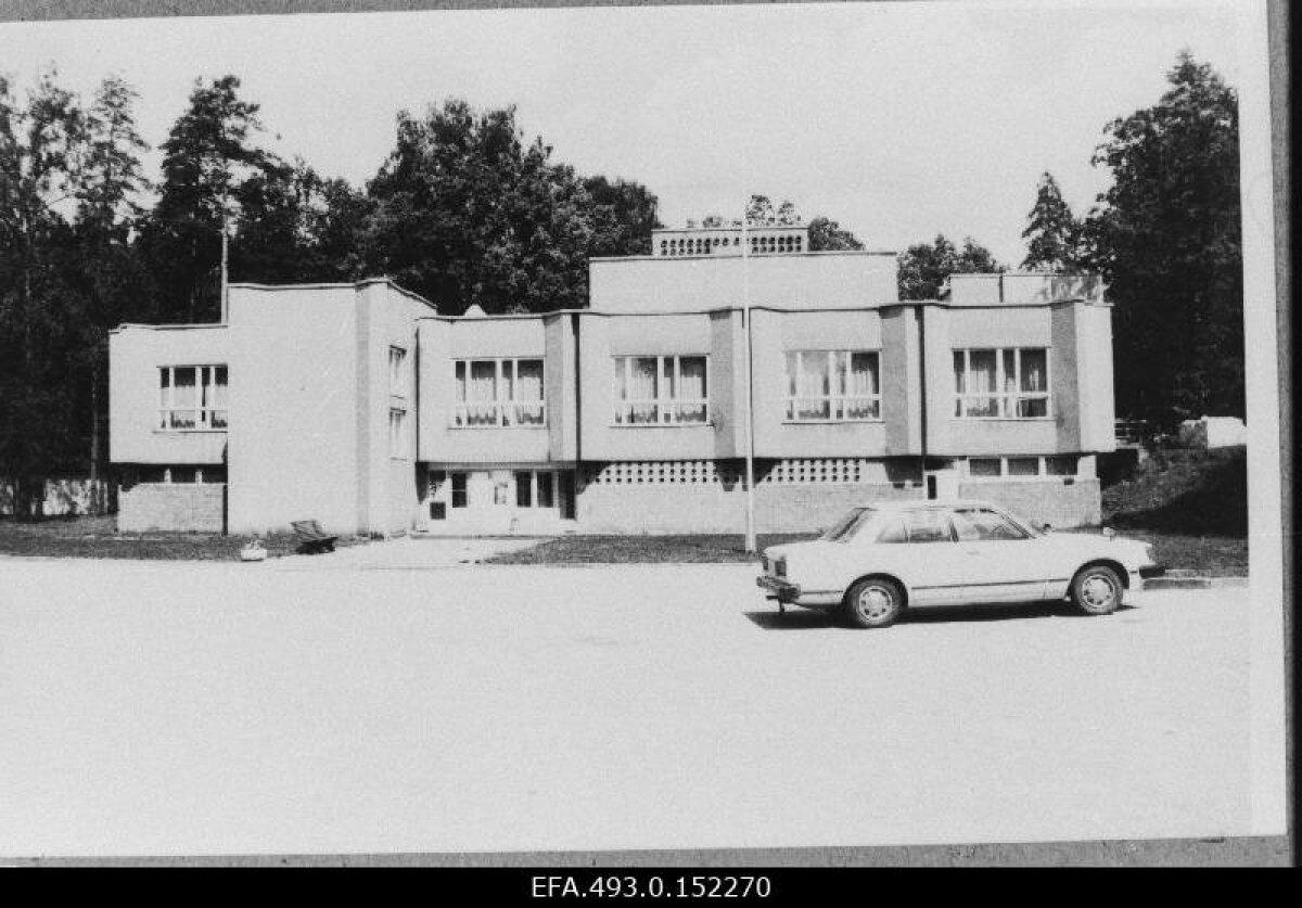 База отдыха в Нелиярве. 08.1991
