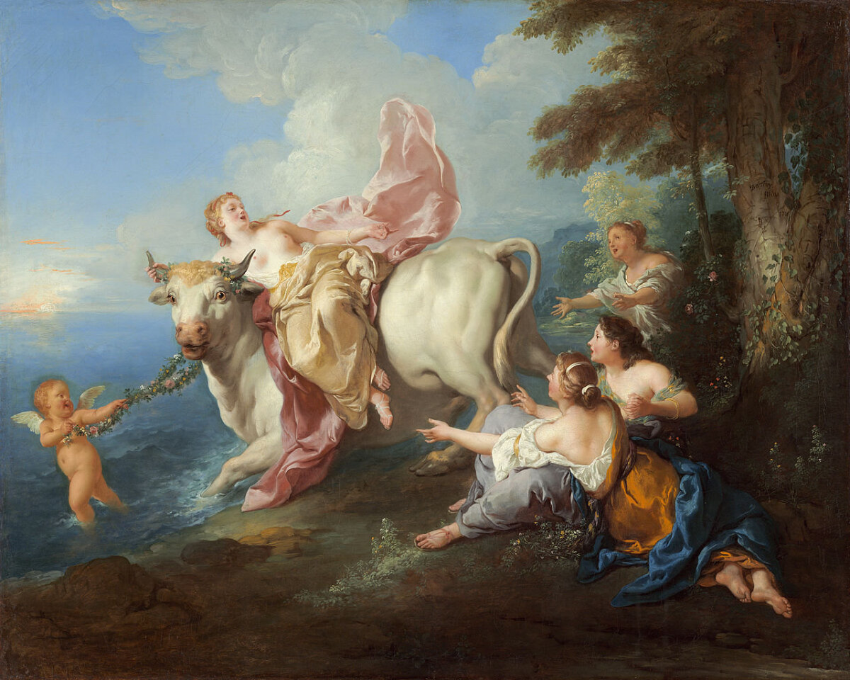 Jean François de Troy: Europa röövimine (1716)