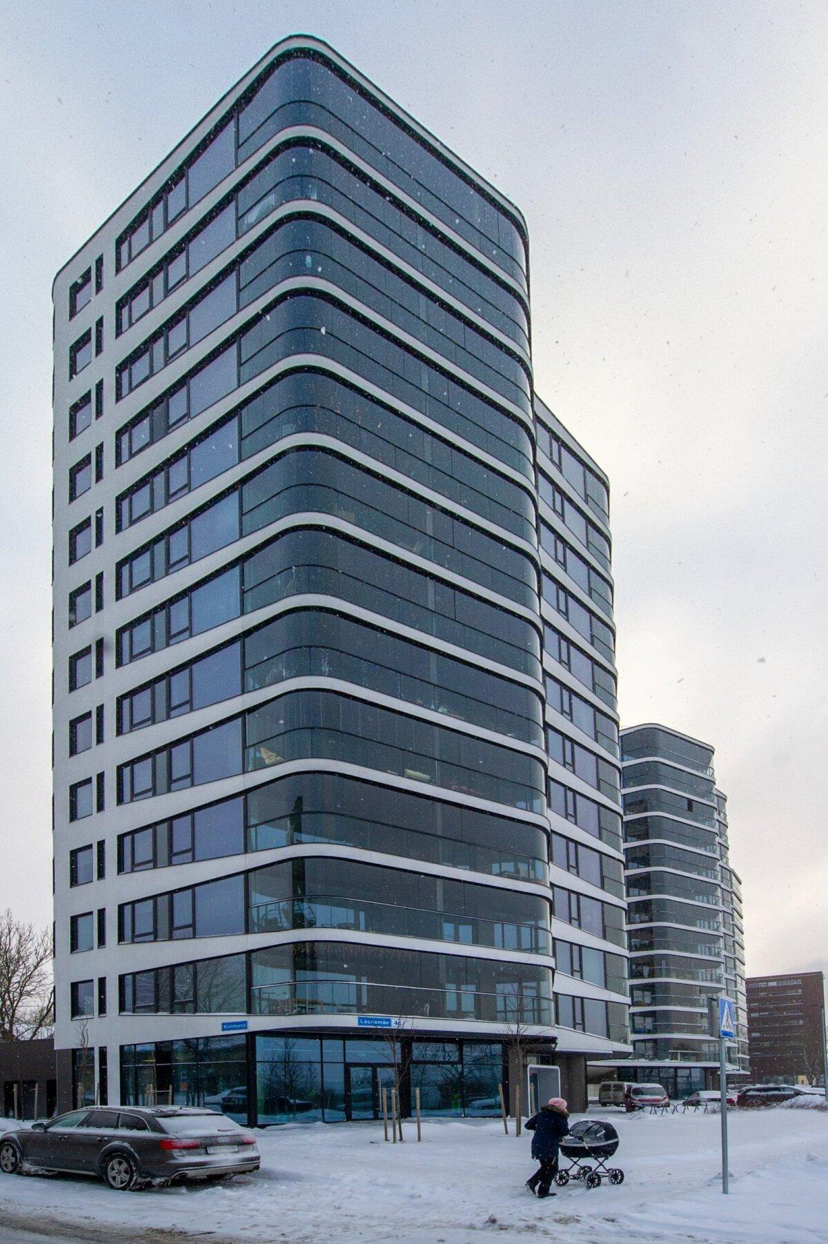 NOOBEL MAJA: Lasnamäe 4c asuv kahetoaline korter on seoses rahapesuga riigi käpa all.