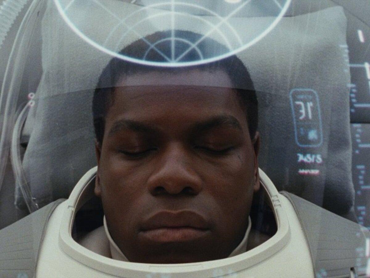 "John Boyega filmis ""Star Wars: Viimased jedid"""