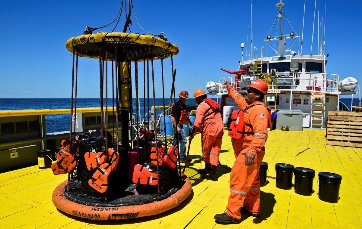 Puurimistööd Mehhiko ranniku ligidal algasid juba 2016