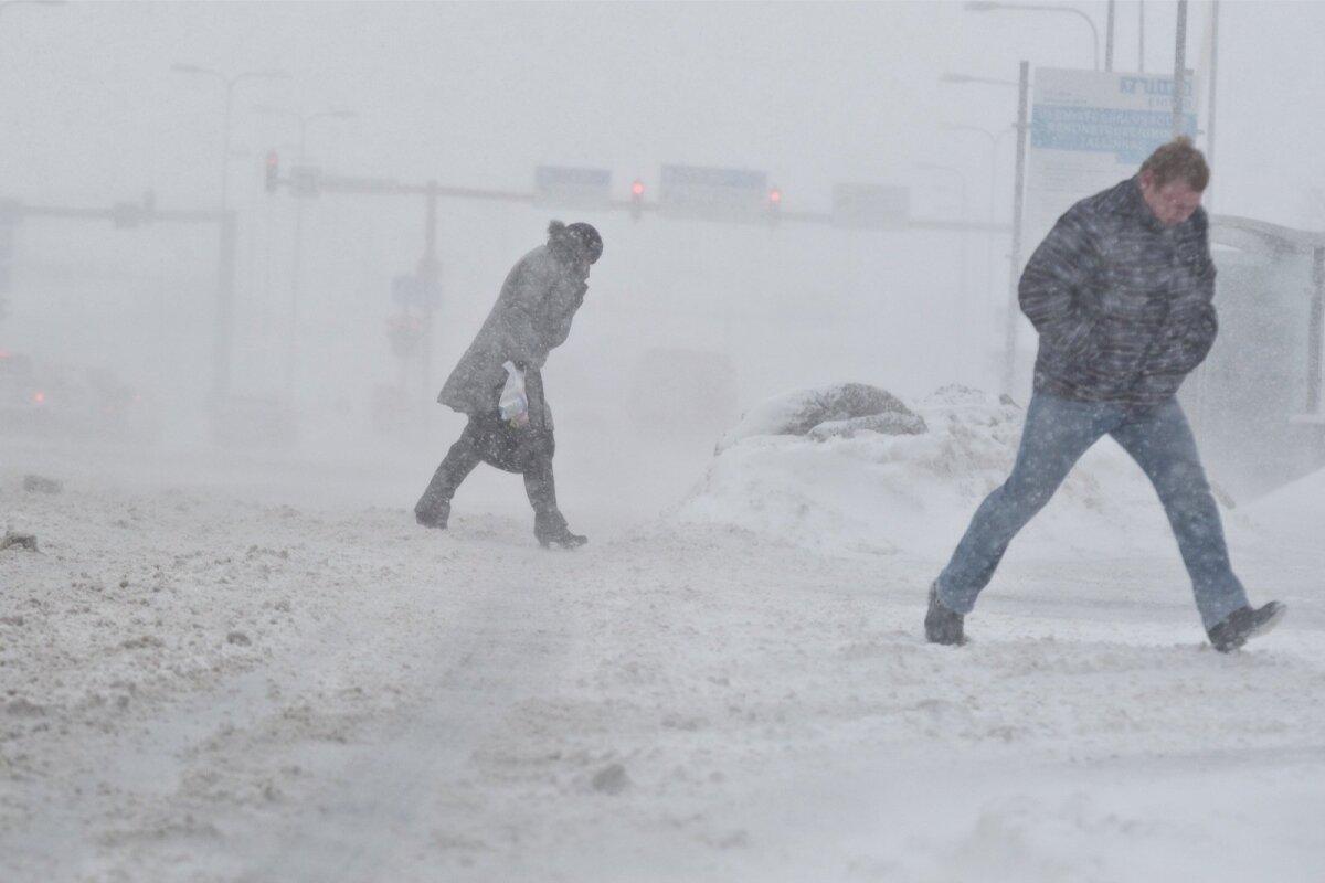 Lumetorm linnas