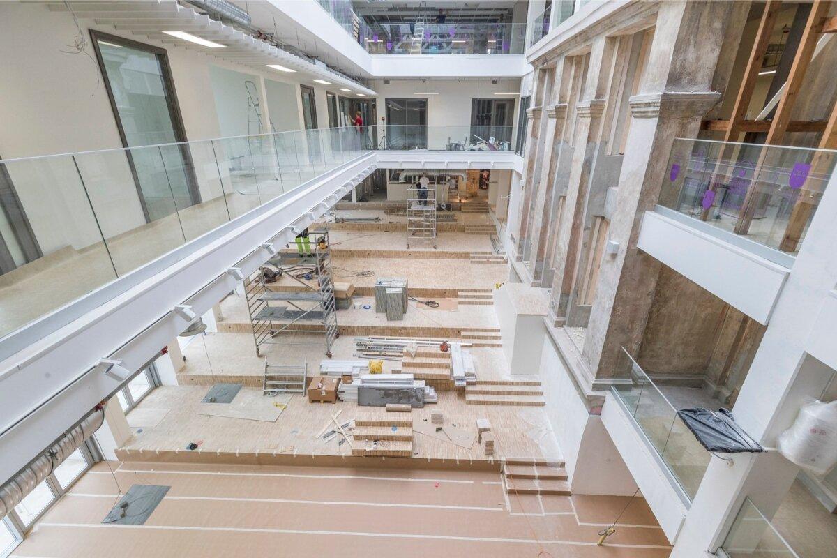 Gustav Adolfi gümnaasiumi uue koolimaja tutvustus Vana-Kalamaja 9