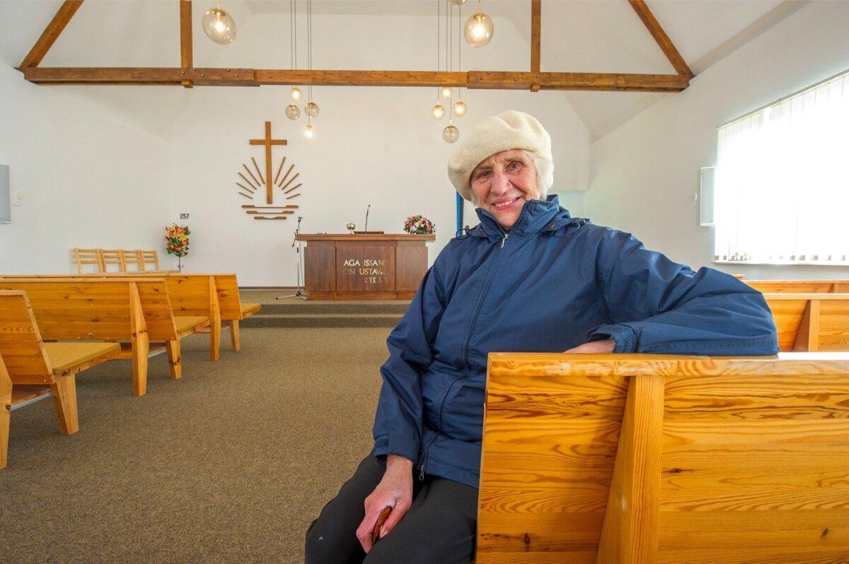 KOGUDUSE LIIGE VILMA RUUBEL: Mõtlesime, et kirikust võiks saada kontserdisaal. Aga rahvamaja tehti korda ja Mõisakülas on nüüd saal olemas.