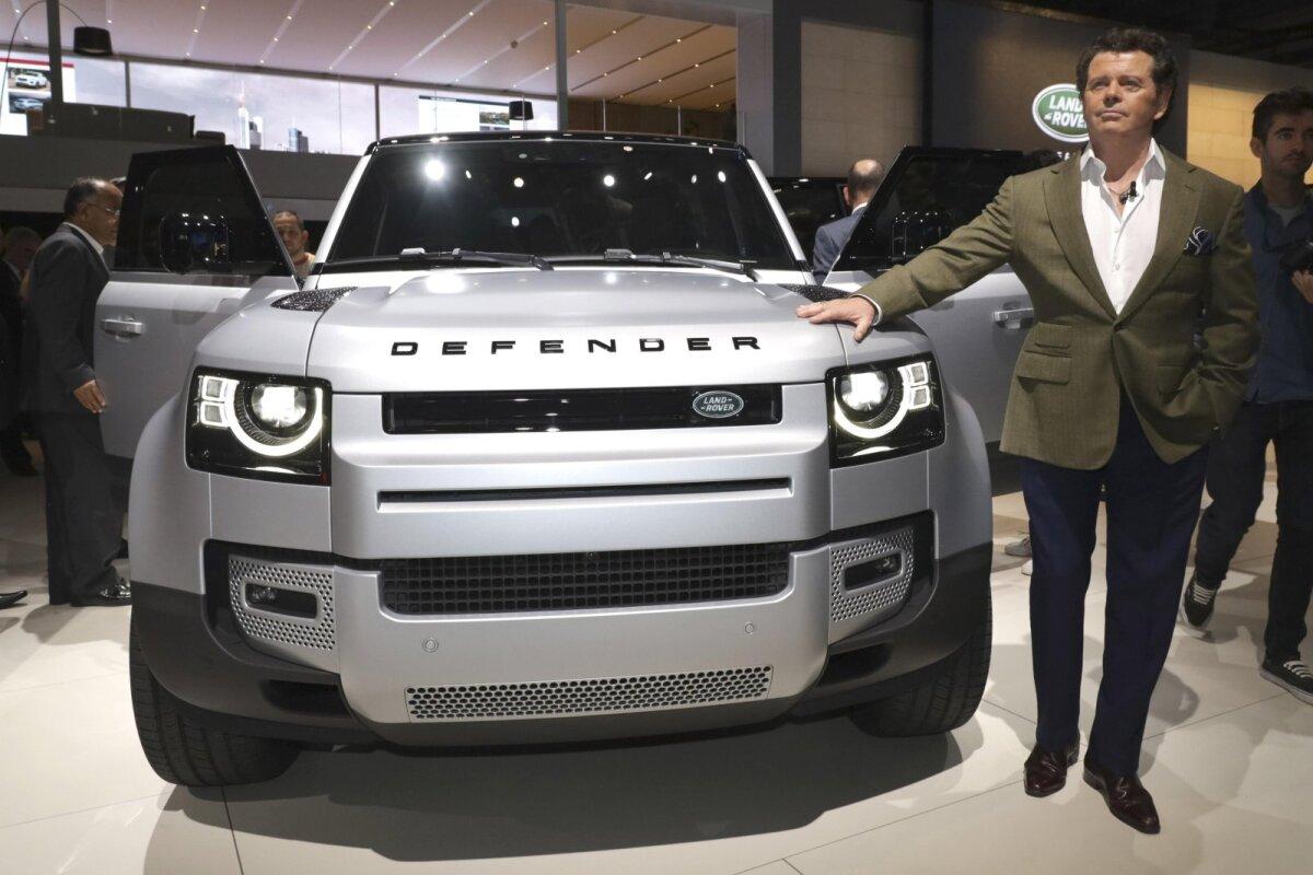 Uue Land Roveri esitlus mullu sügisel.
