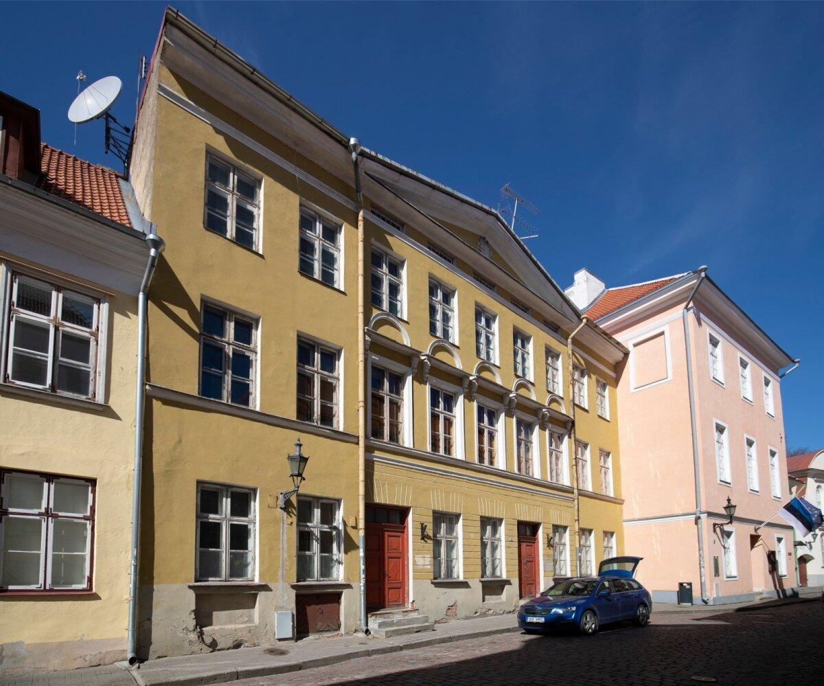 Renoveerimata hooned, Toom-Kooli 9