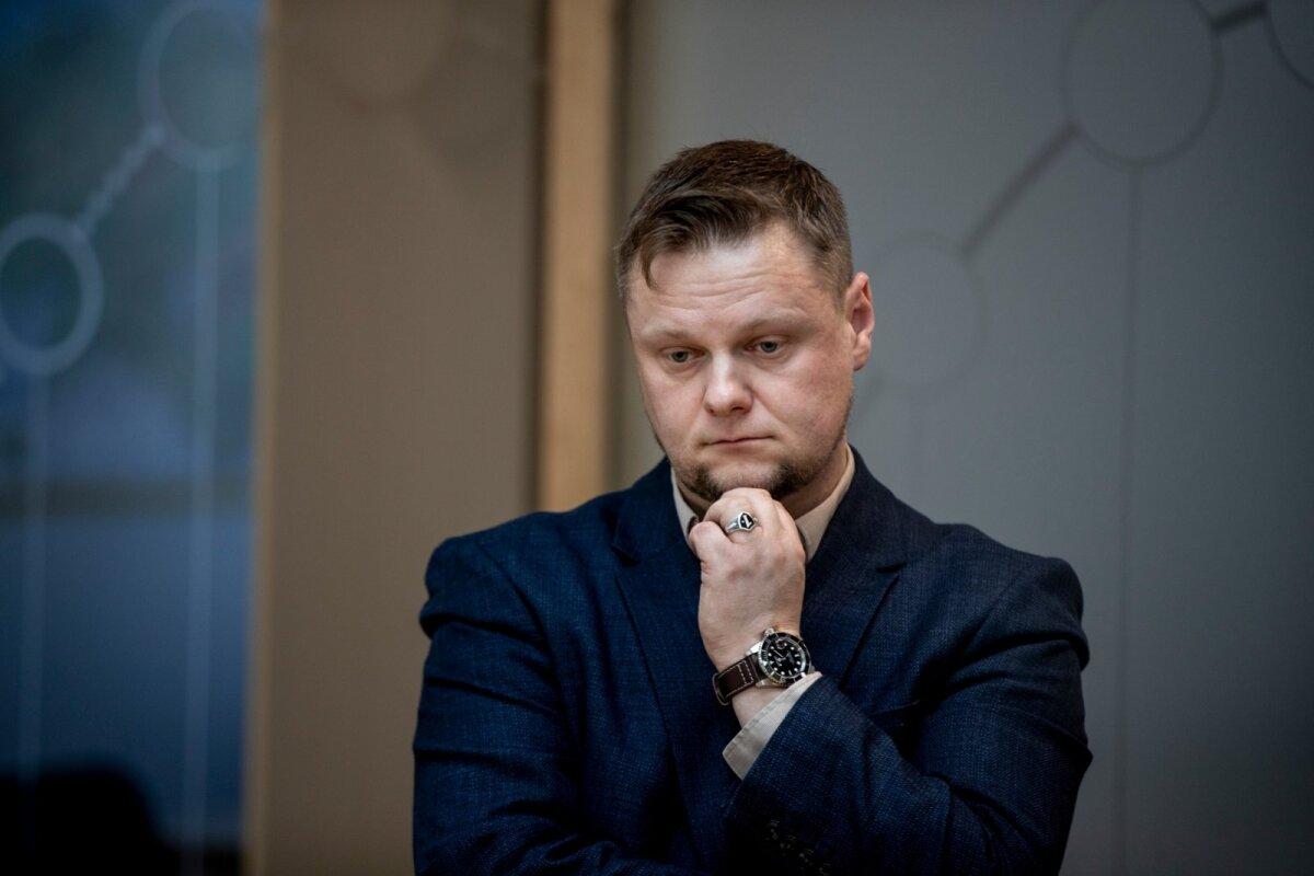 VIHAALUNE: Terviseameti endine kommunikatsioonijuht Simmo Saar.