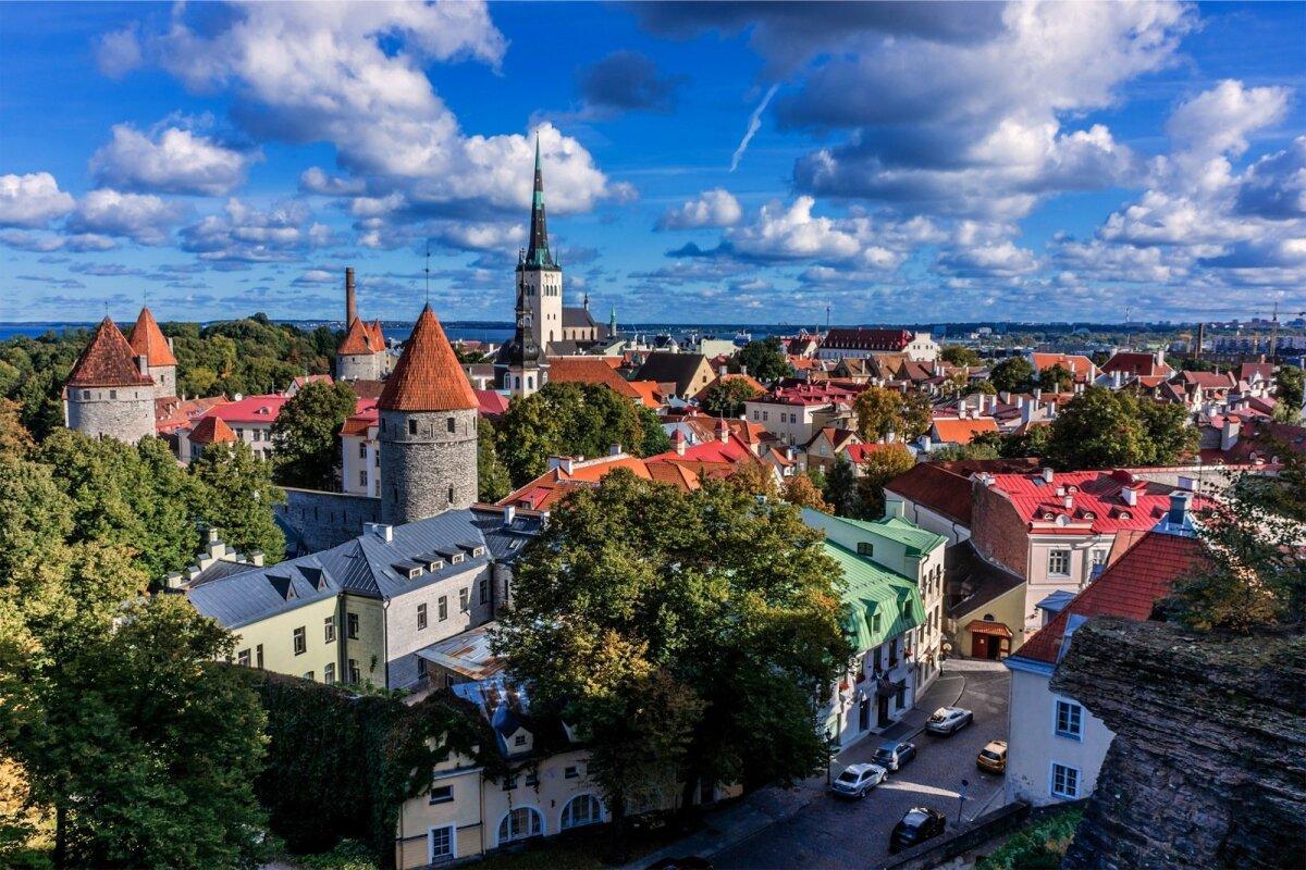 Tallinna vanalinn.