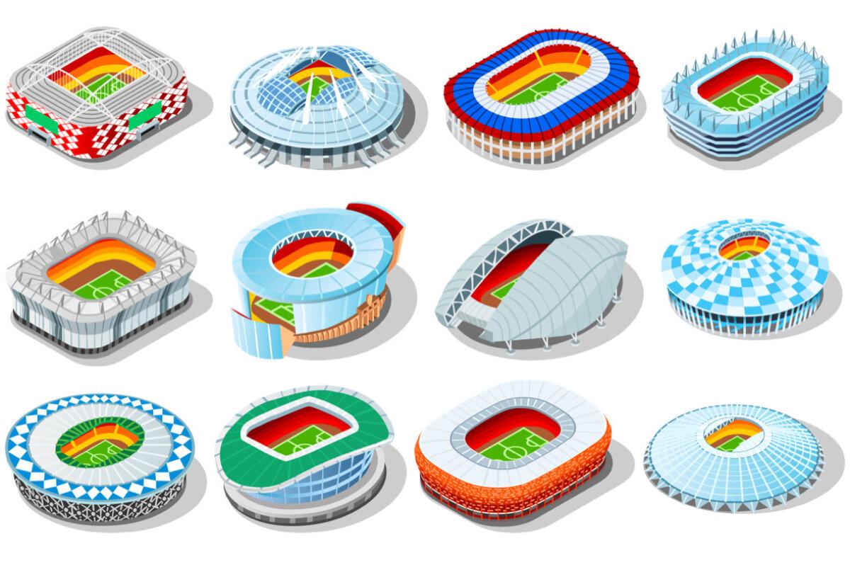 Venemaa jalgpalli MM-i staadionite väliskujud