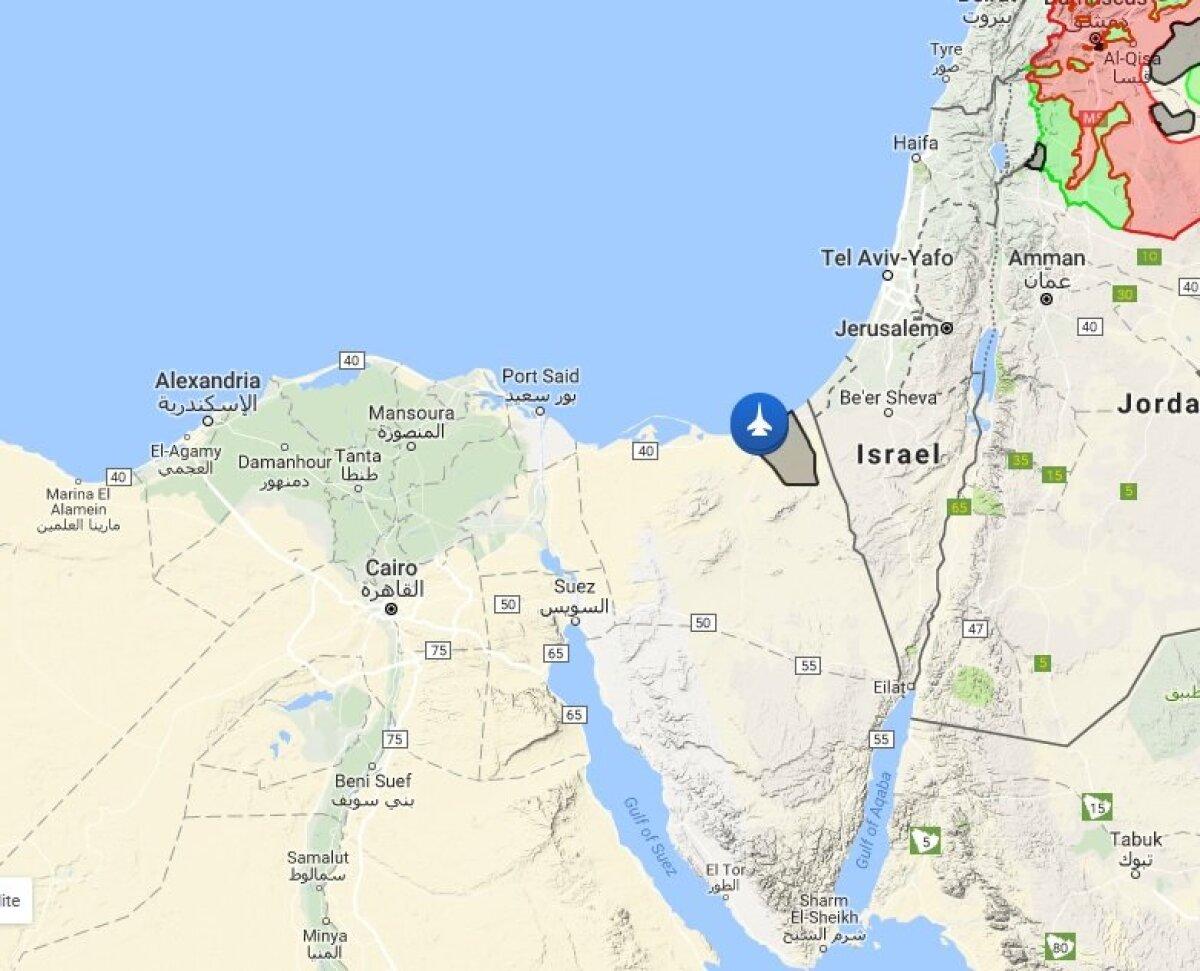 Islamiriigi kontrollitav ala Siinail