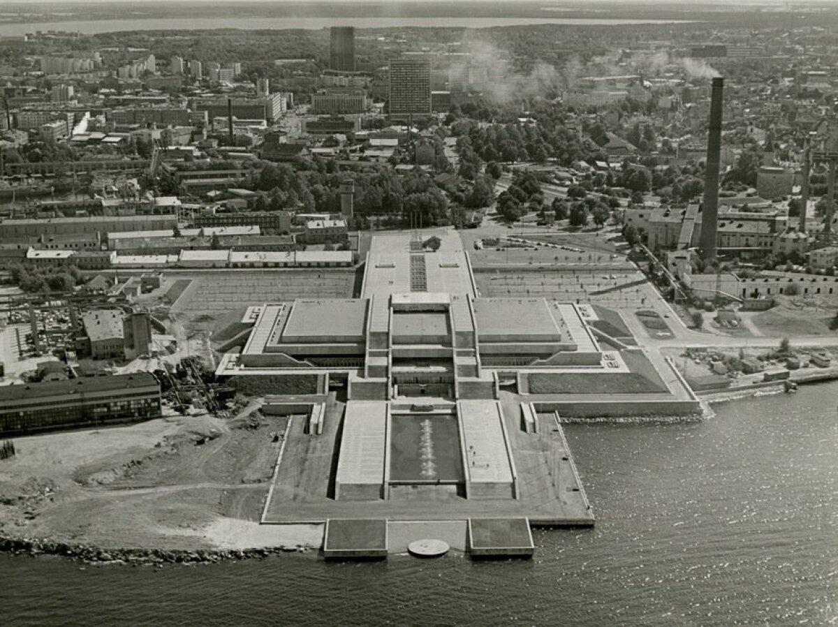 Tallinna Linnahall 1980. aastate alguses