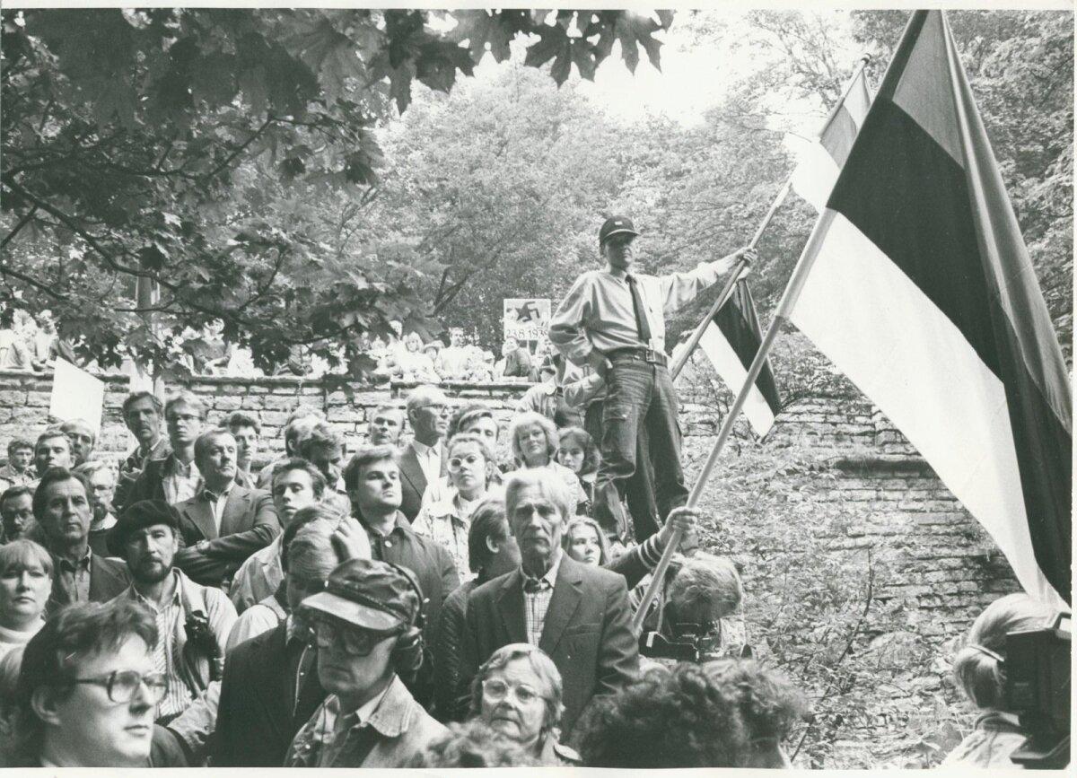 Hirvepark, 23.08.1988, Foto: Erich Norman, ETA, EE Arhiiv