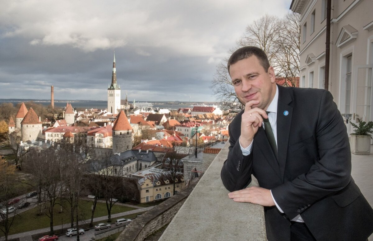 SEISAK ON HEA: Jüri Ratas 2017. aastal peaministrina.