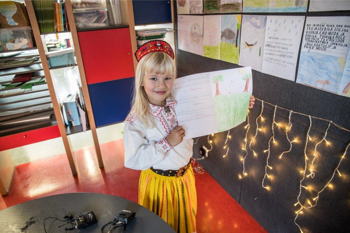 Greta käib esimeses klassis nii Prantsusmaa kui ka Eesti koolis.