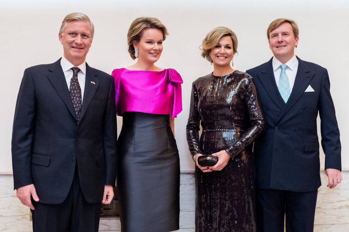 Belgia kuningas ja kuninganna ning Hollandi kuningas ja kuninganna tänavusel ühispildil