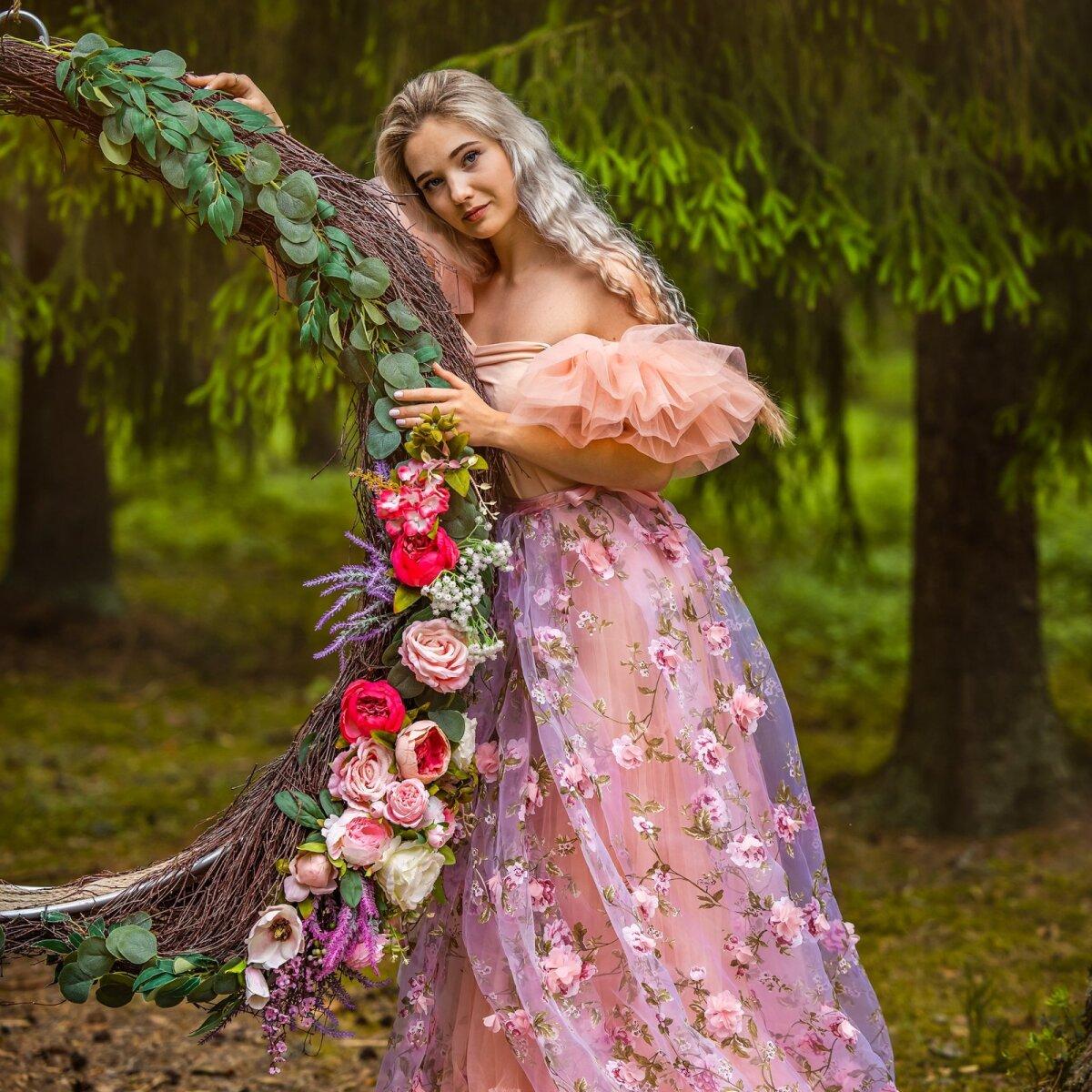 """Победительница конкурса """"Мое любимое летнее платье"""": """"Моего любимое летнее платье в этом году. Самое нежное, которое я когда-либо мерила:)"""""""