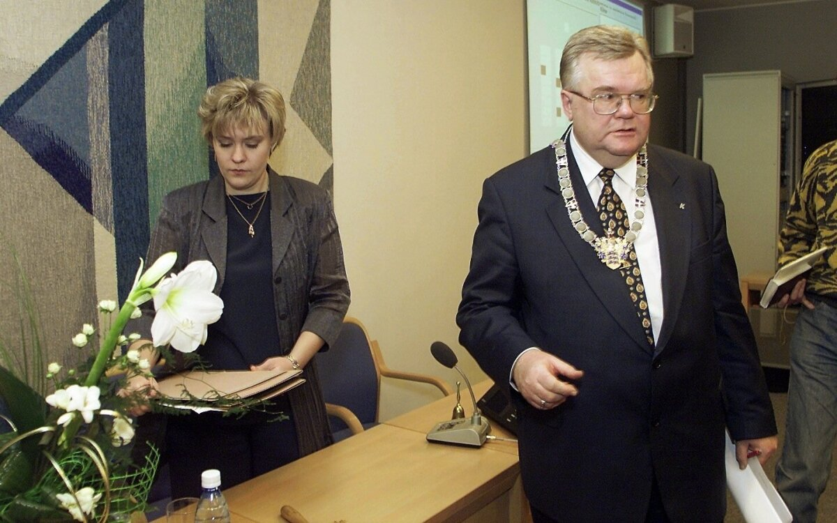 Maret Maripuu ja Edgar Savisaar