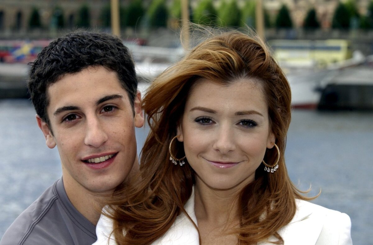 Filmi peategelased Jason Biggs ja Alyson Hannigan.