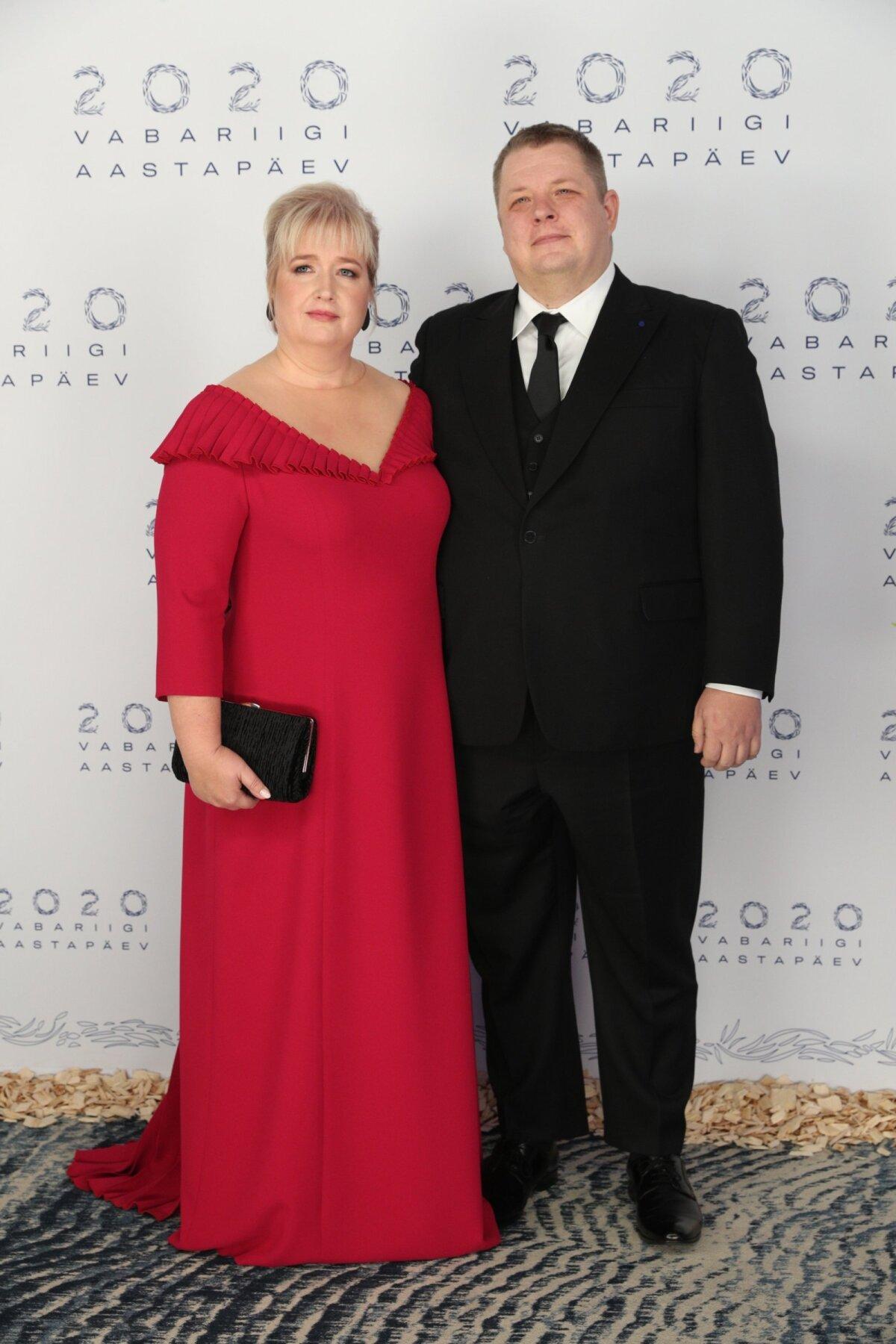 Erki Savisaar abikaasa Margitiga.
