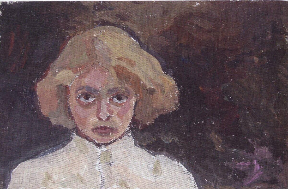 Evi Tihemets, Olen jõudnud Koola poolsaarele, 1959, guašš.