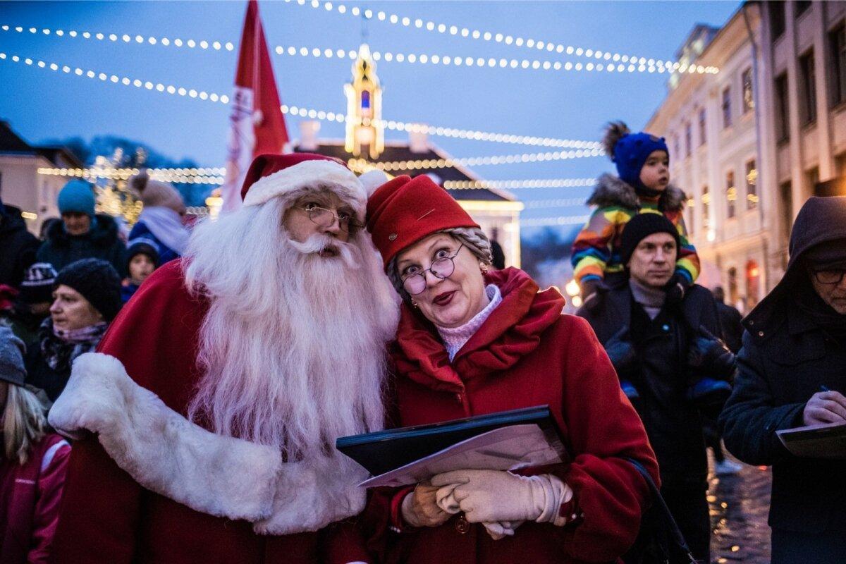 Sookvoodid on tunginud ka jõuluvanandusse.