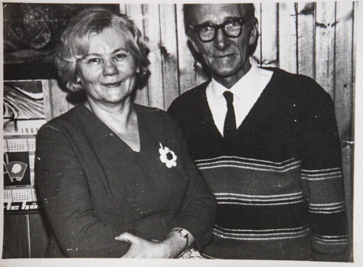 Rauli õde Leida ja tema mees Eduard Deudorf, kes Rauli õpingute ajal ja tööelu alguses väga toetasid. 1967. aasta