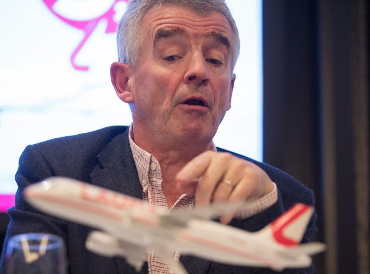 Ryanairi juht Michael O Leary.