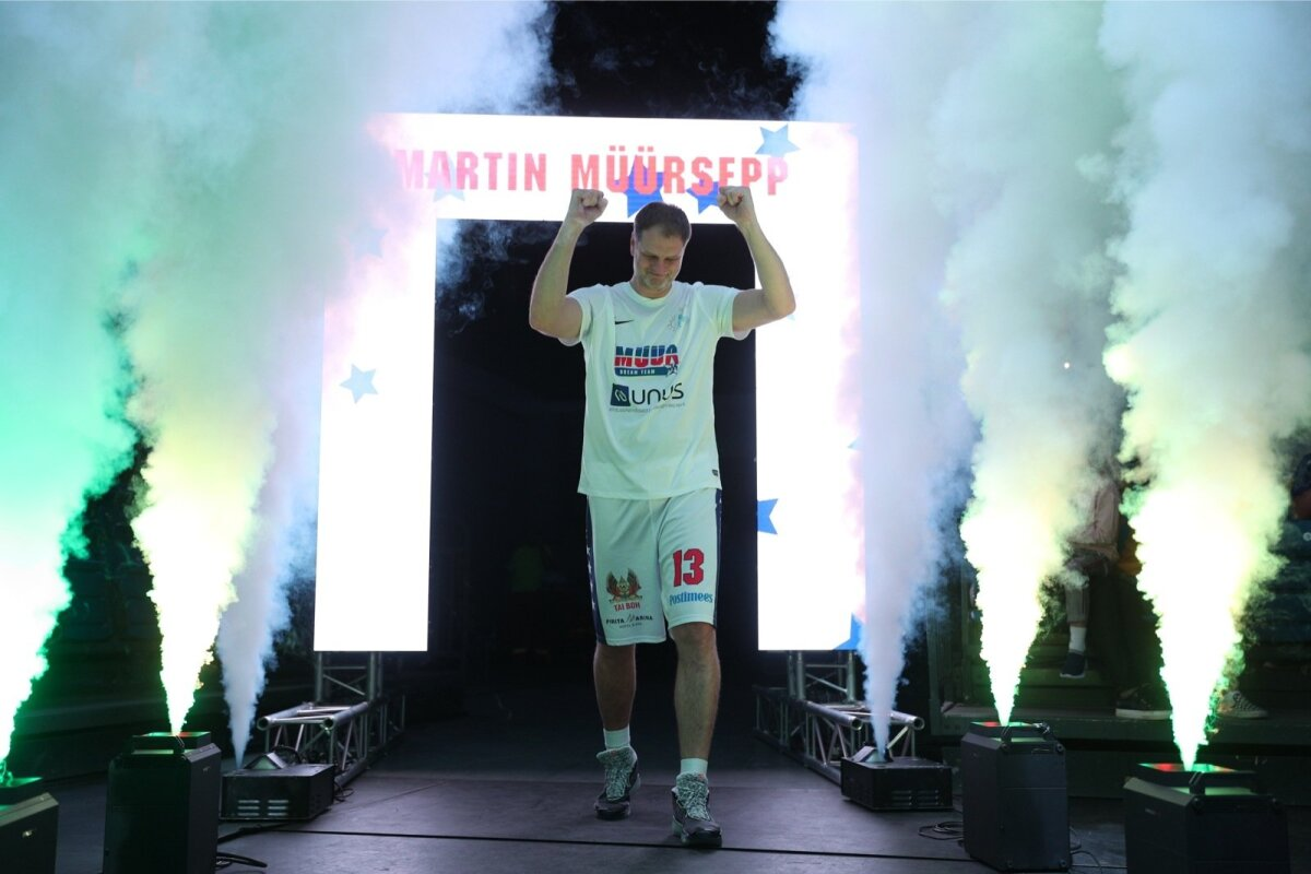 VIIMANE LAHING! Martin Müürsepp elust viimast korda mängijana suurele areenile saabumas.