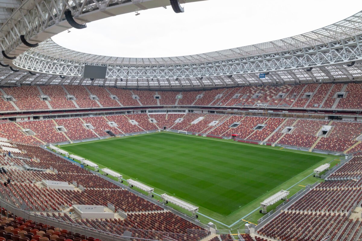 Lužniki staadion Moskvas
