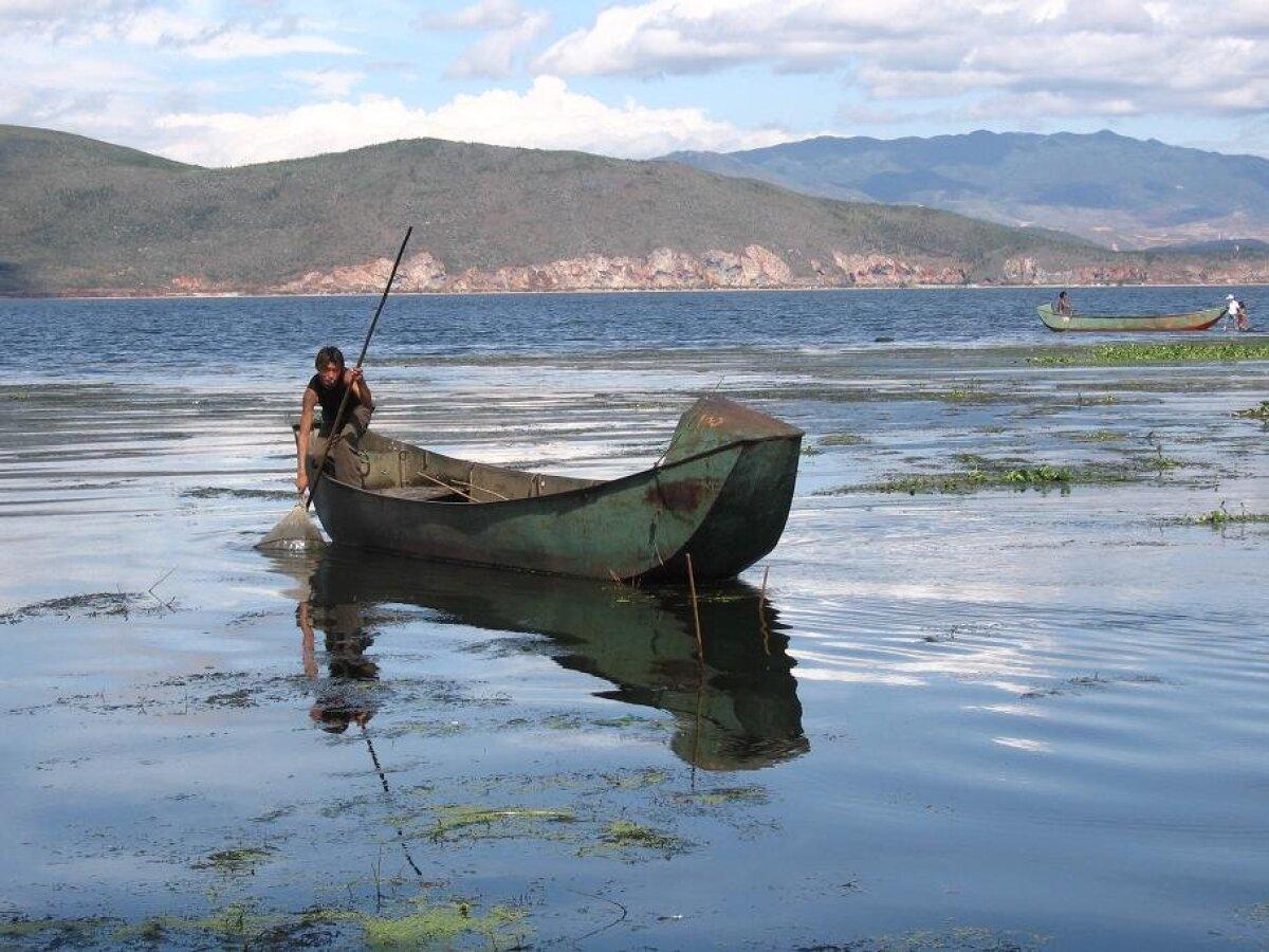 Erhai järv (Foto: Wikimedia Commons, kasutaja Asteiner)