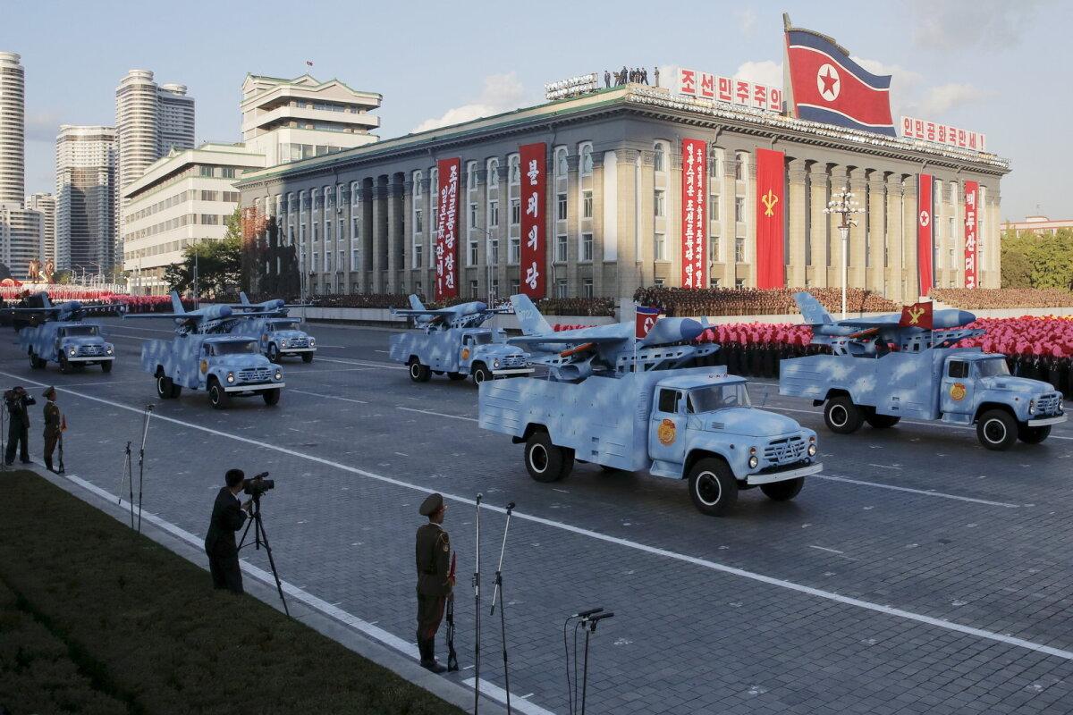 Ei jää võlgu: oma droonid on ka Põhja-Koreal.