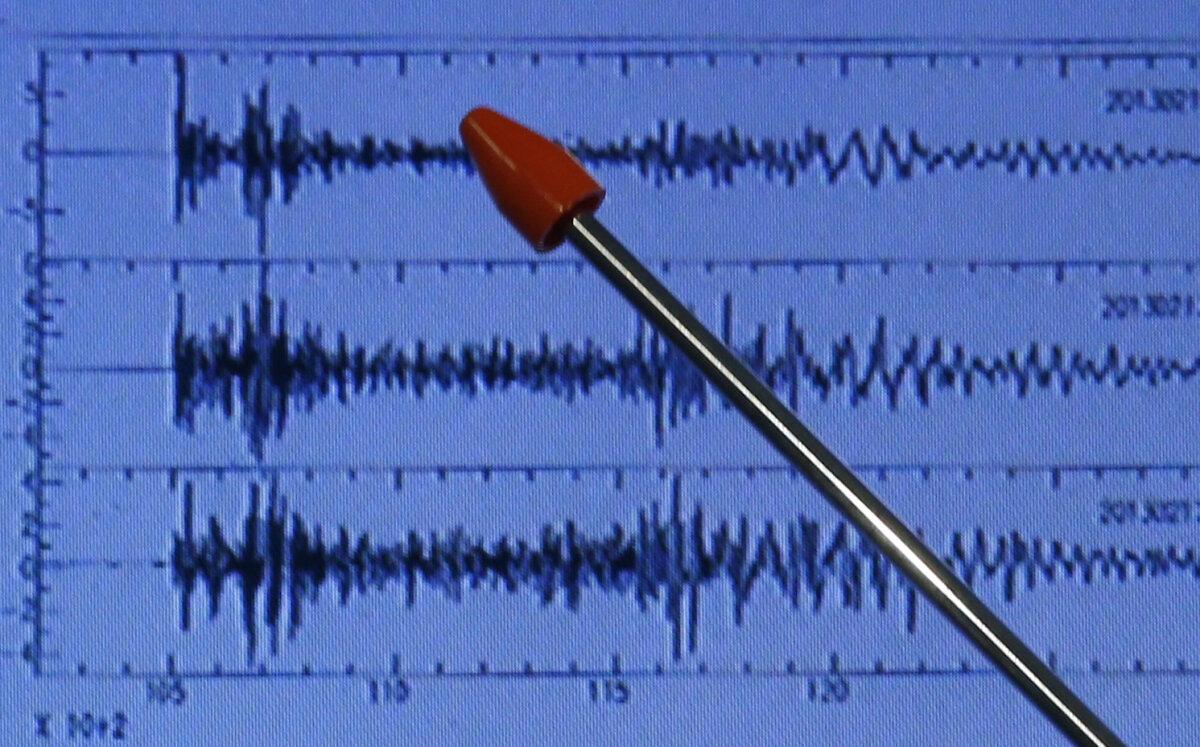 Seismiline tegevus Jaapanis pärast Põhja-Korea raketikatsetust 12. veebruar, 2013