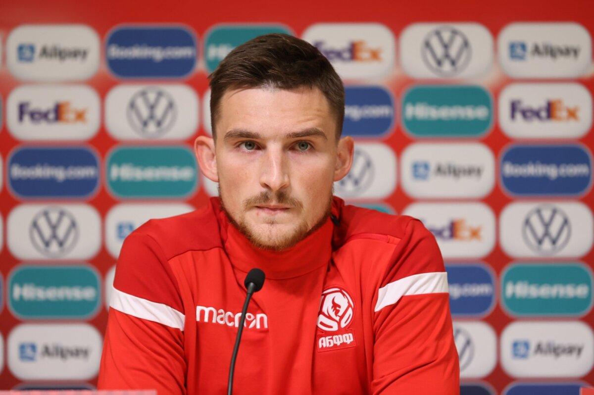 Poolkaitsja Jevgeni Jablonski tegi 2019. aastal Eesti vastu Tallinnas oma koondisedebüüdi.