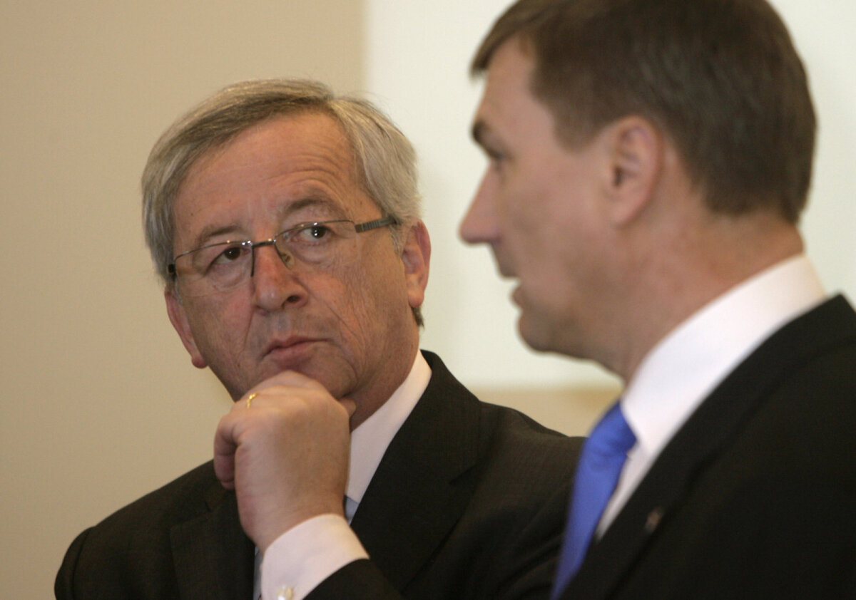 Juncker and Andrus Ansip back in 2011 when they were still heading governments of Luxembourg and Estonia, respectively
