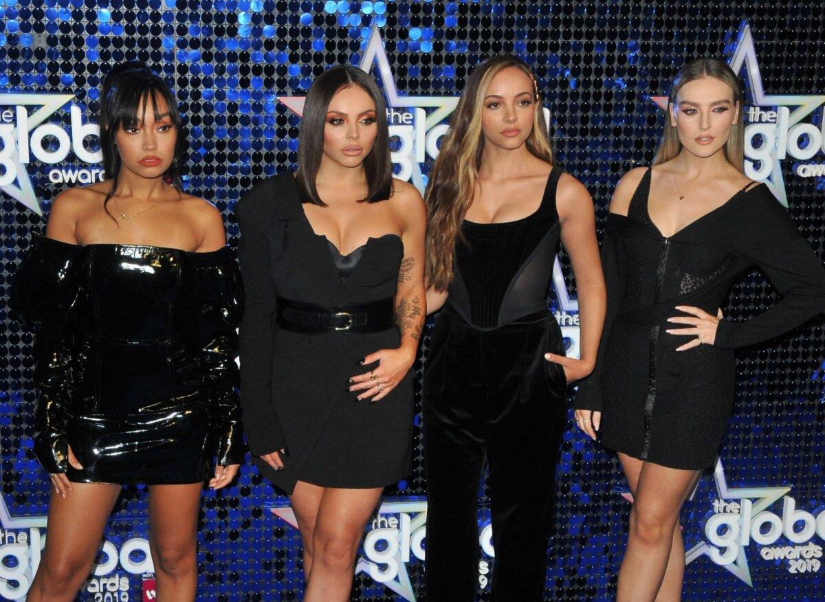 Tüdrukutebändi Little Mix liikmed Leigh-Anne Pinnock, Jesy Nelson, Jade Thirlwall ja Perrie Edwards.