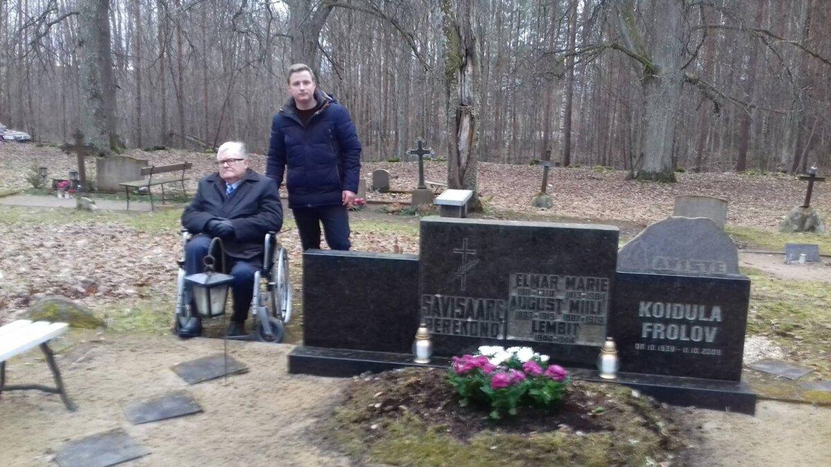 Edgar Savisaar ja tema truu lähikondlane Andres-Marius Rosenblatt