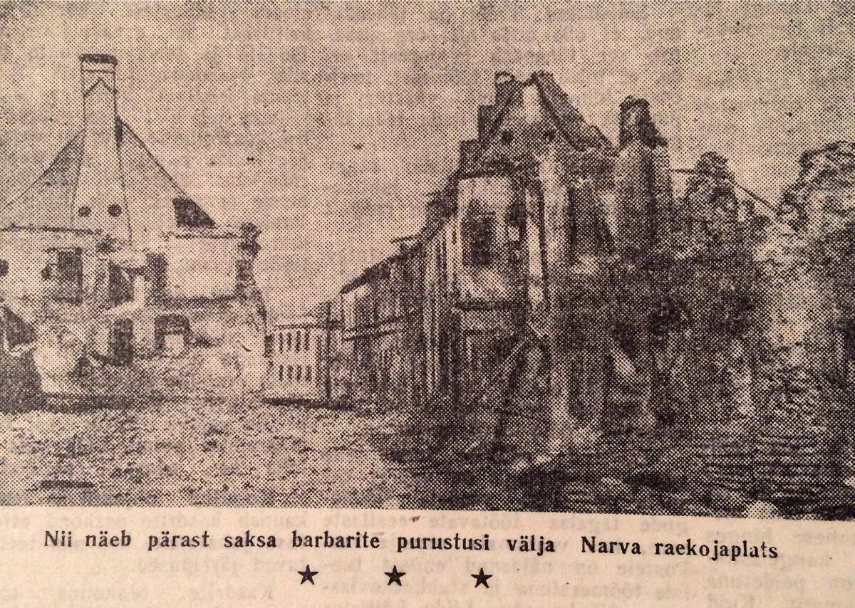 Rahva hääl 1944