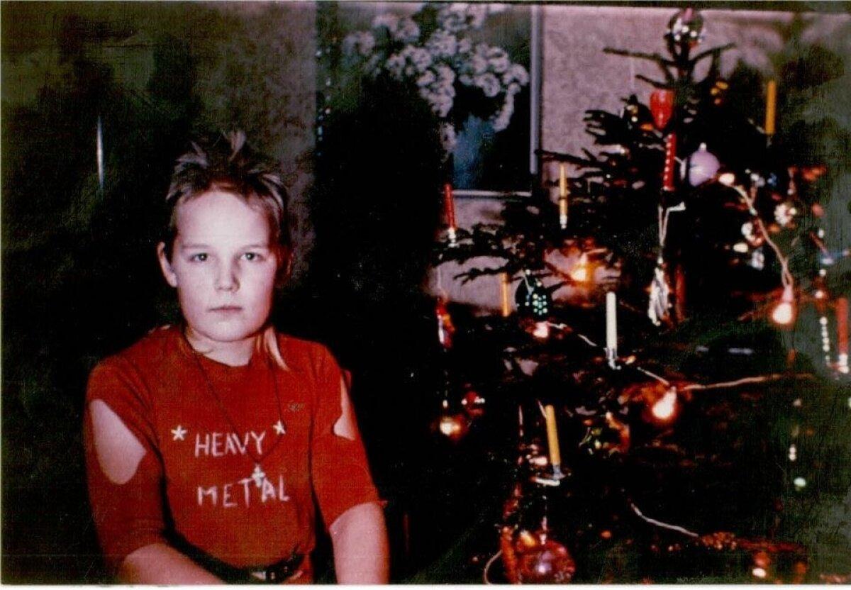 """Markus aastal 1988. Lõhkirebitud särgivarrukad ja kiri """"Heavy Metal"""" rinnal räägivad ise enda eest."""