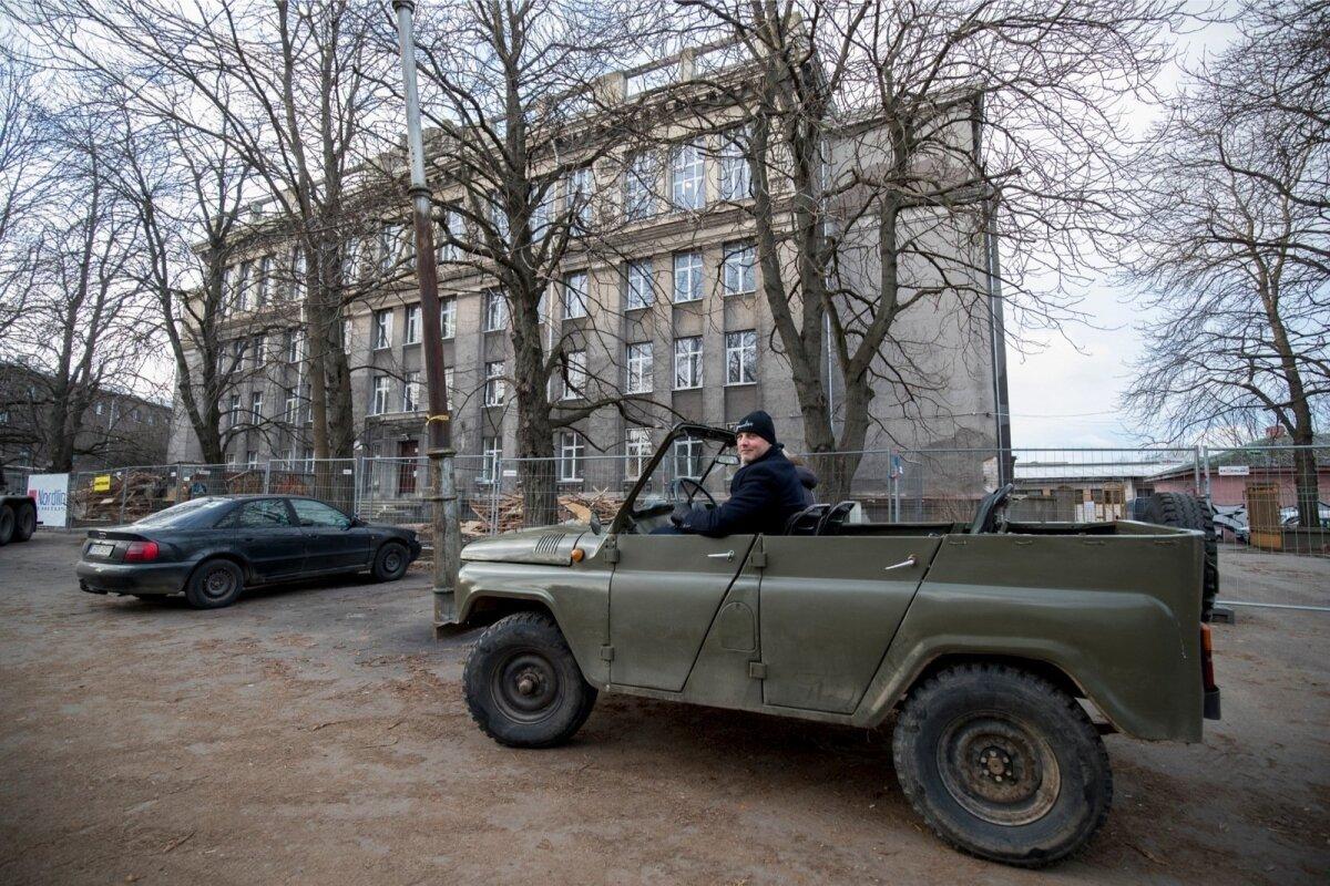 720 UUT KOOLIKOHTA: Linn andis GAGile  Vana- Kalamaja täiskasvanute gümnaasiumi (pildil) hoone. Remont maksab 5,5 miljonit eurot.
