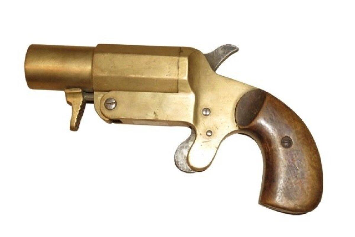 Raketipüstol Stantien & Becker, Saksamaa, Lübeck,1915.