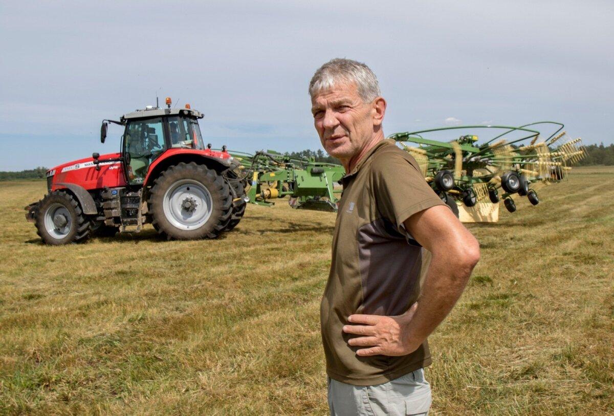 """""""Põllumajandusfirma arenemine-kasvamine on väga kallis lõbu, kus kasu näed alles aastate pärast,"""" selgitab Trovadori tegevjuht Vahur Veermäe."""