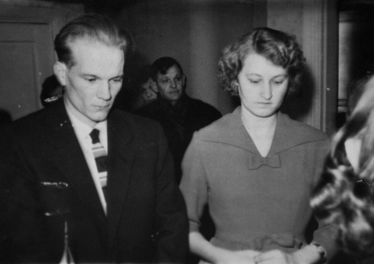 Aino ja Eduardi abielu registreerimine 1962. aastal