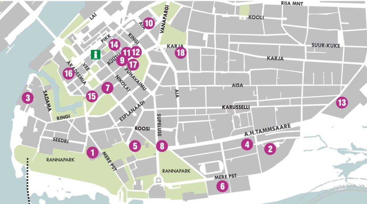 Restoranide nädalal osalevad tuntud Pärnu restoranid.