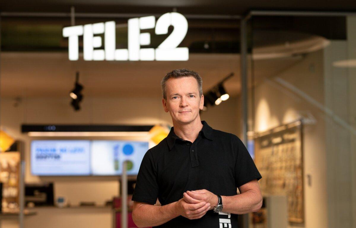 Tele2 juht Chris Robbins (foto: Tele2)