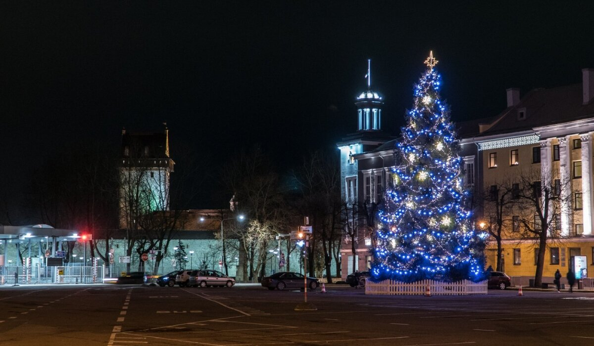 Narva jõulupuu