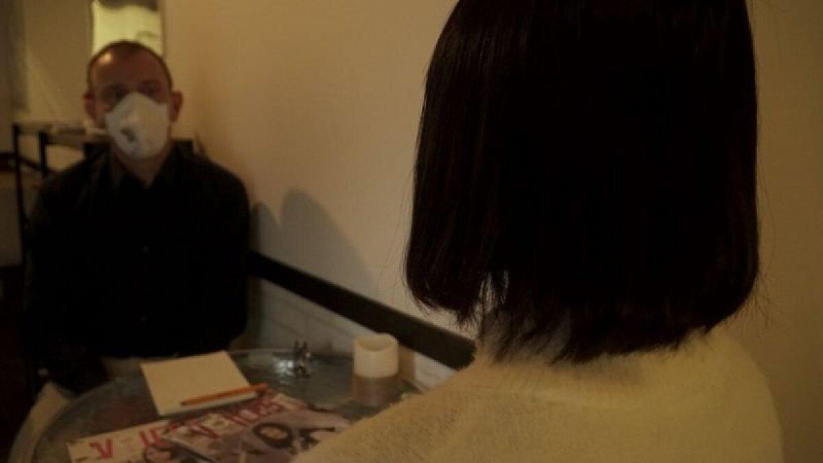 Молодая женщина (ее личность Би-би-си неизвестна) встретилась с Рупертом Вингфилд-Хейсом в Йокогаме
