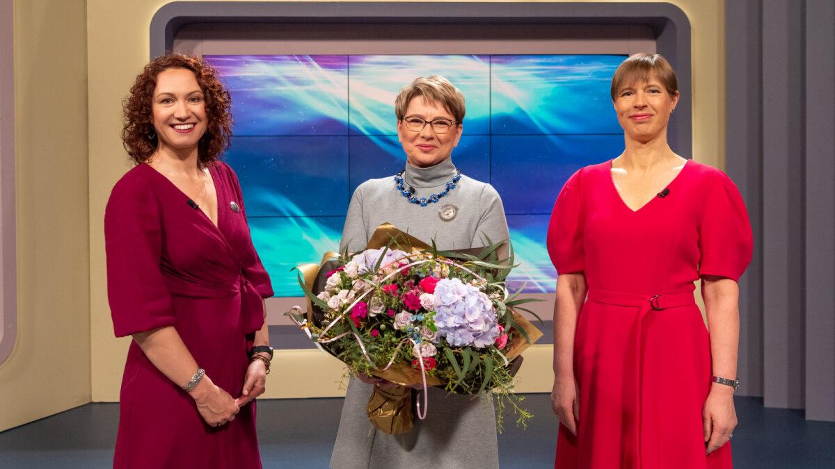 Утром 9 мая президент Эстонии Керсти Кальюлайд вручила титул «Мать года» Ульви Вилуметс в телепередаче «Утро с Ану»