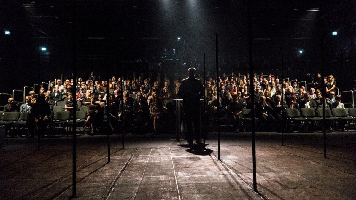 Vaba Lava teatrikeskuse avamine Narva linnas